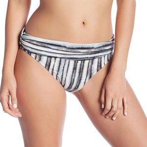 La Blanca Bamboo Stripe Banded Hipster Bottoms